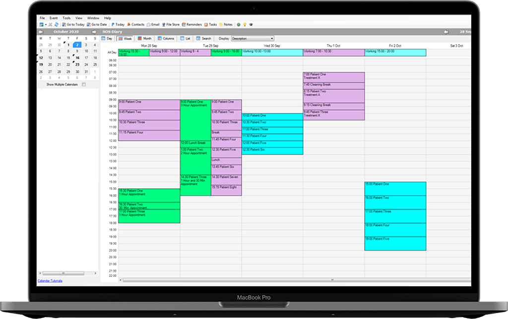 Smart Office Services: Diary Management Laptop